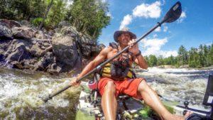 Fishing Spots man kayaking