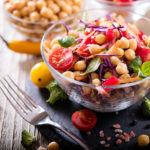 healthy diet fruits in clear bowl