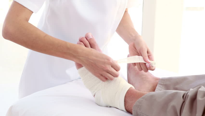 Wound Management bandaging
