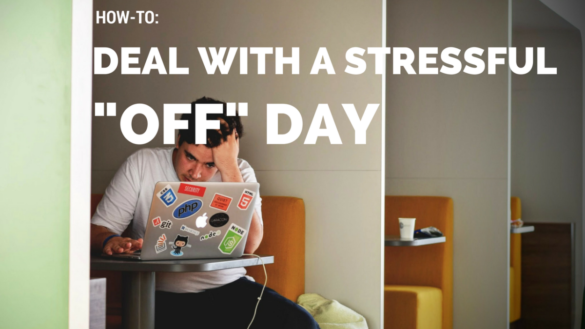 How to Deal with an Off Day: Stress, Stimulants, Smoking, and Sleep