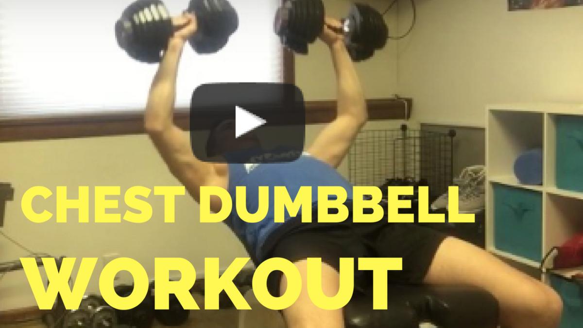 bodybuilding chest dumbbells workouts