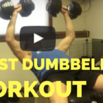 Chest Press with Dumbbells Bodybuiling - He and She Fitness