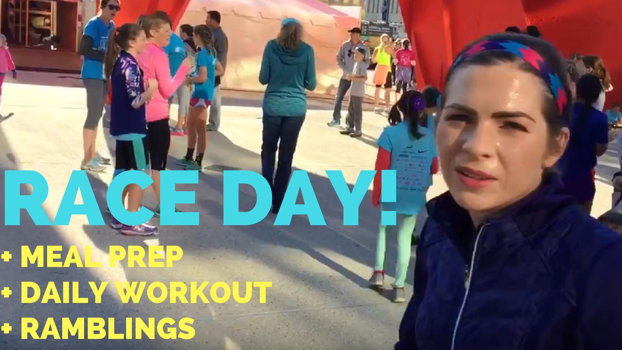 Sunday Raceday Gazelle Girl Run + Beef Pot Roast + Tricep Pushdown Workout