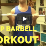 bicep barbell workout youtube video