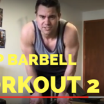 Updated Bodybuilding Barbell Bicep Curl Demonstration - He and She Fitness