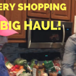 Carpooling with Leg Workout and Our Grocery Shopping Haul - He and She Fitness
