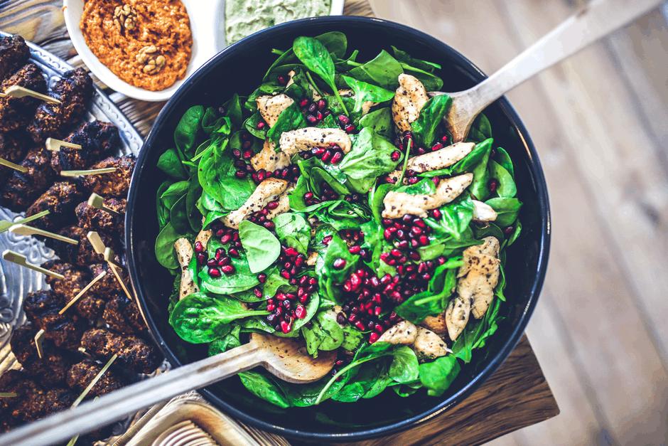 Lutein-Rich Diet salad greens food