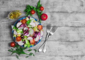 Manage Your Diabetes leafy salads