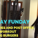 Sunday Errands + Groceries + Biceps Workout + Grilling Burgers – He and She Fitness