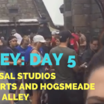 Disney Vacation Day #5: Universal + Hogwarts + Diagon Alley + Harry Potter - He and She Fitness