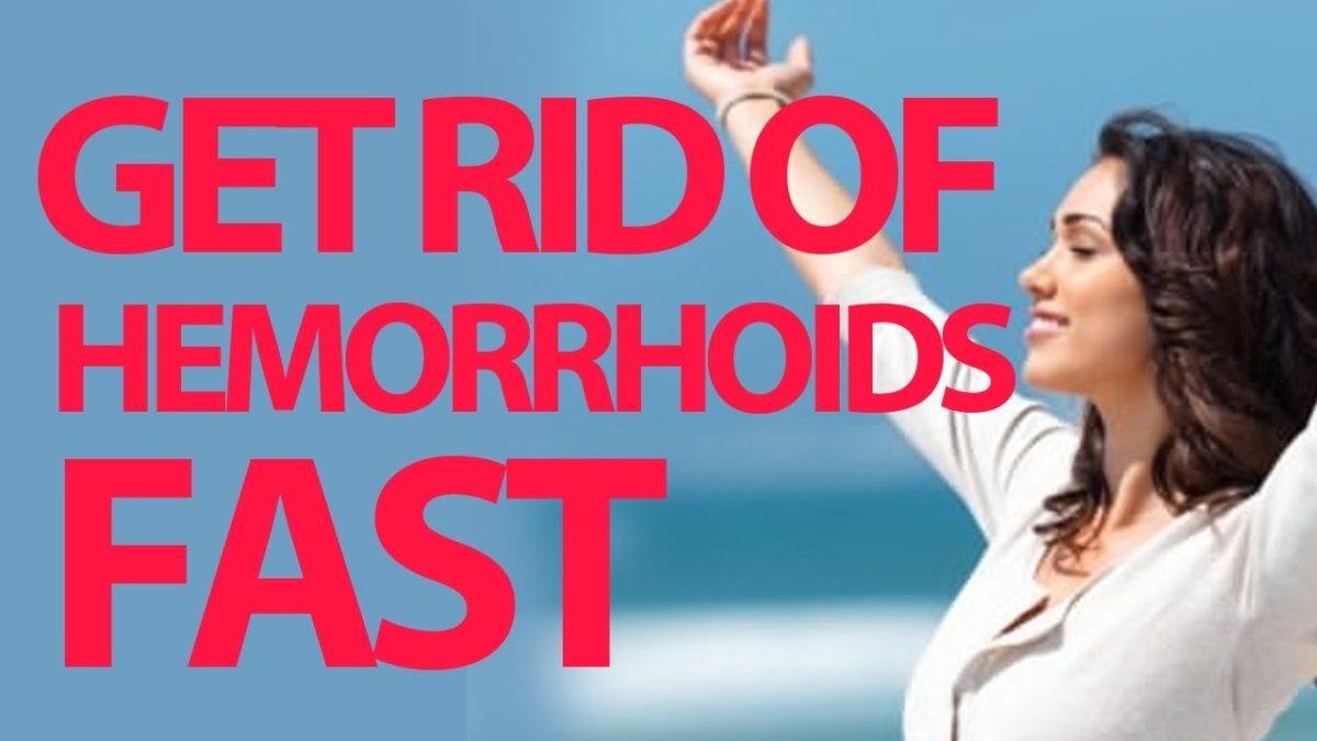 Rid of Hemorrhoids naturally