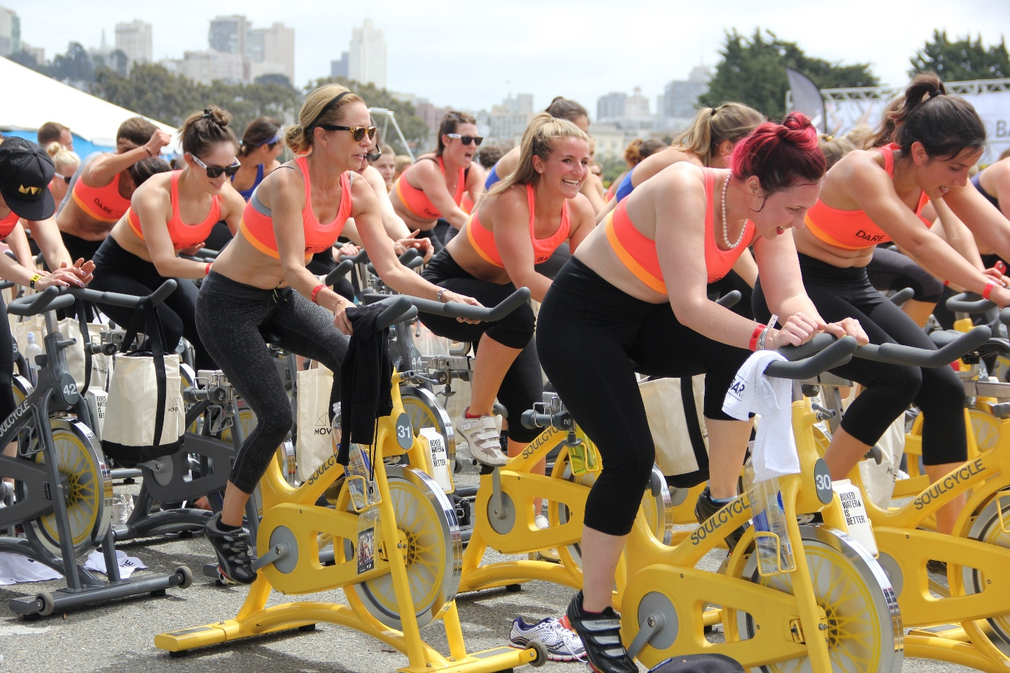 Joining Soulcycle