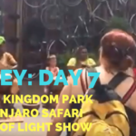 Disney Vacation Day #7: Animal Kingdom + Kilamanjaro Safari + Rivers of Light - He and She Fitness