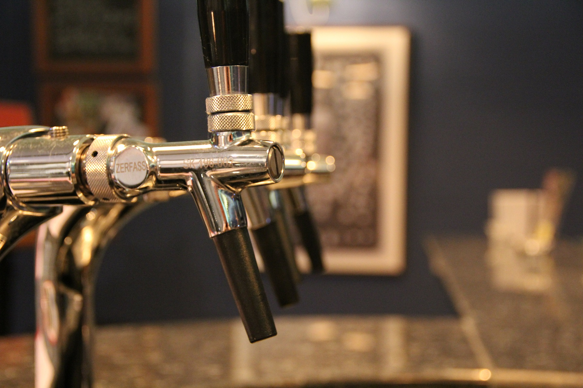 Micro Brewery taps