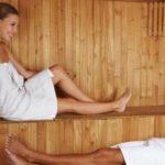 sauna people happy on levels