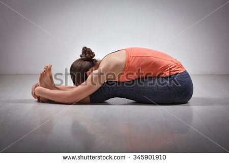 orange shirt yoga