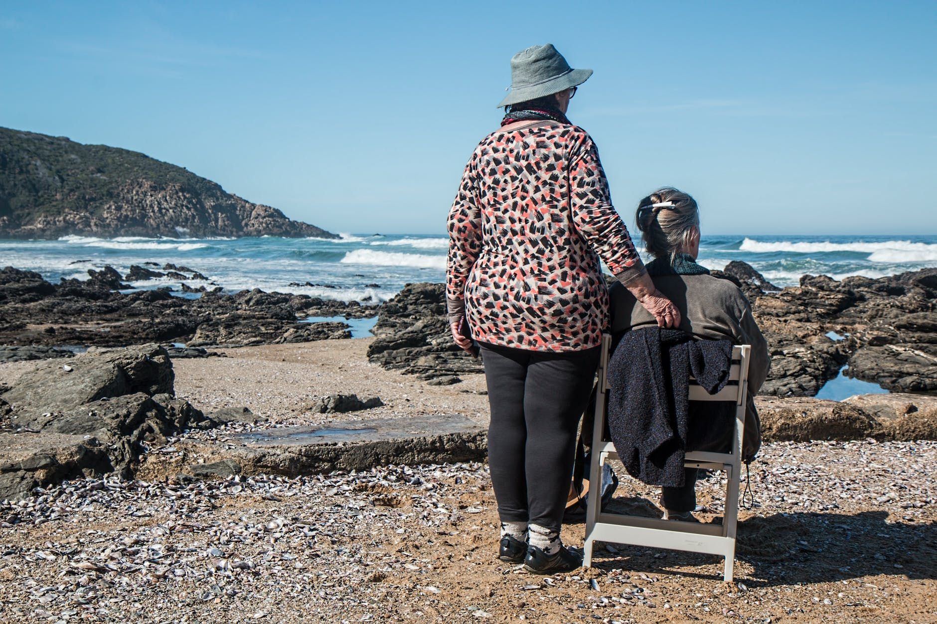 Can Taking Care Of Your Elderly Parents Harm Your Relationships With Family? beach