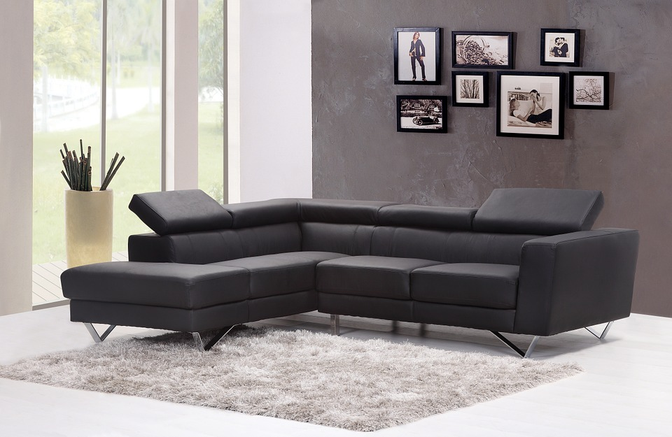 Different classifications of leather sofas