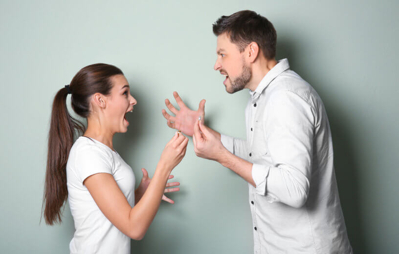Five Reasons why fighting between couples is good