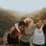 How can daily meet-ups with your close friends relieve you from stress and anxiety?